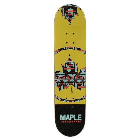 "Maple Masters 31"" Skateboard - Digital Yellow - image 1 of 2"