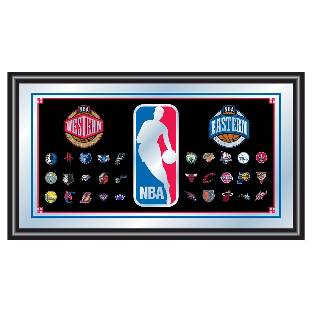 NBA Wall Mirror, Decorative Wall Mirrors