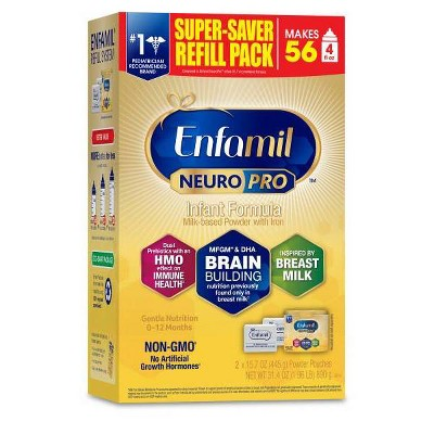 Enfamil NeuroPro Infant Formula Powder Refill Box - 31.4oz