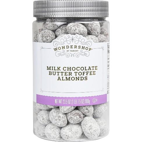 Milk Chocolate Butter Toffee Almonds - 23.5oz - Wondershop™ - image 1 of 1