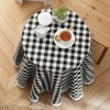 Kate Aurora Country Farmhouse Plaid Buffalo Check Stain & Spill Proof Fabric Tablecloths - image 3 of 4