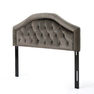 Queen/Full Killian New Velvet Headboard - Christopher Knight Home