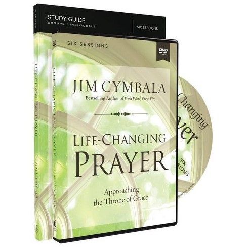 Life-Changing Prayer Study Guide with DVD - by  Jim Cymbala (Paperback) - image 1 of 1