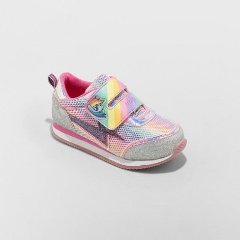 Toddler Girls' Hasbro My Little Pony Retro Jogger Sneakers - Pink - image 1 of 3