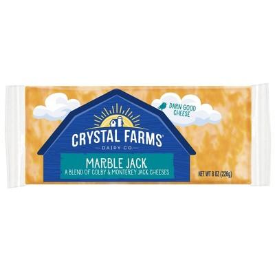 Crystal Farms Marble Jack Cheese - 8oz