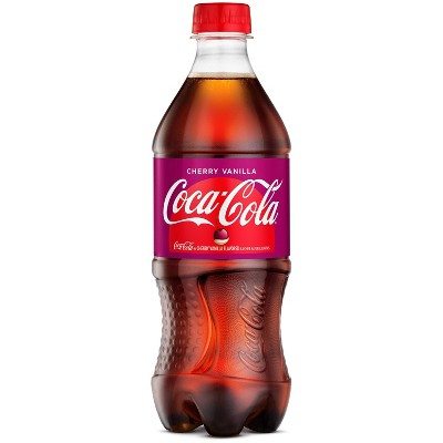 Coca-Cola Cherry Vanilla - 20 fl oz Bottle