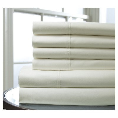 Regency 400 Thread Count Bonus Cotton Sheet Set (Queen)Ivory