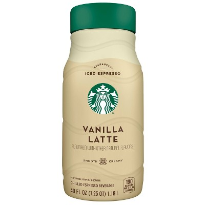 Starbucks Vanilla Latte Iced Espresso Classics - 40 fl oz