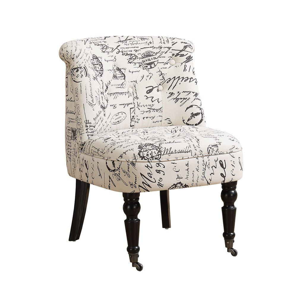 Accent Chair - Vintage French - EveryRoom, Beige