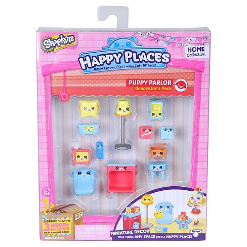 Happy Places Shopkins™ Decorator Pack - Puppy Parlor - image 1 of 2