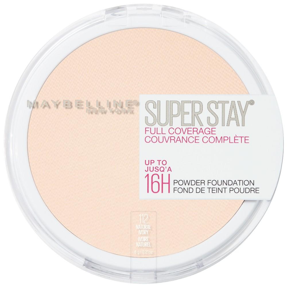Maybelline Superstay Powder Foundation 112 Natural Ivory - 0.18oz