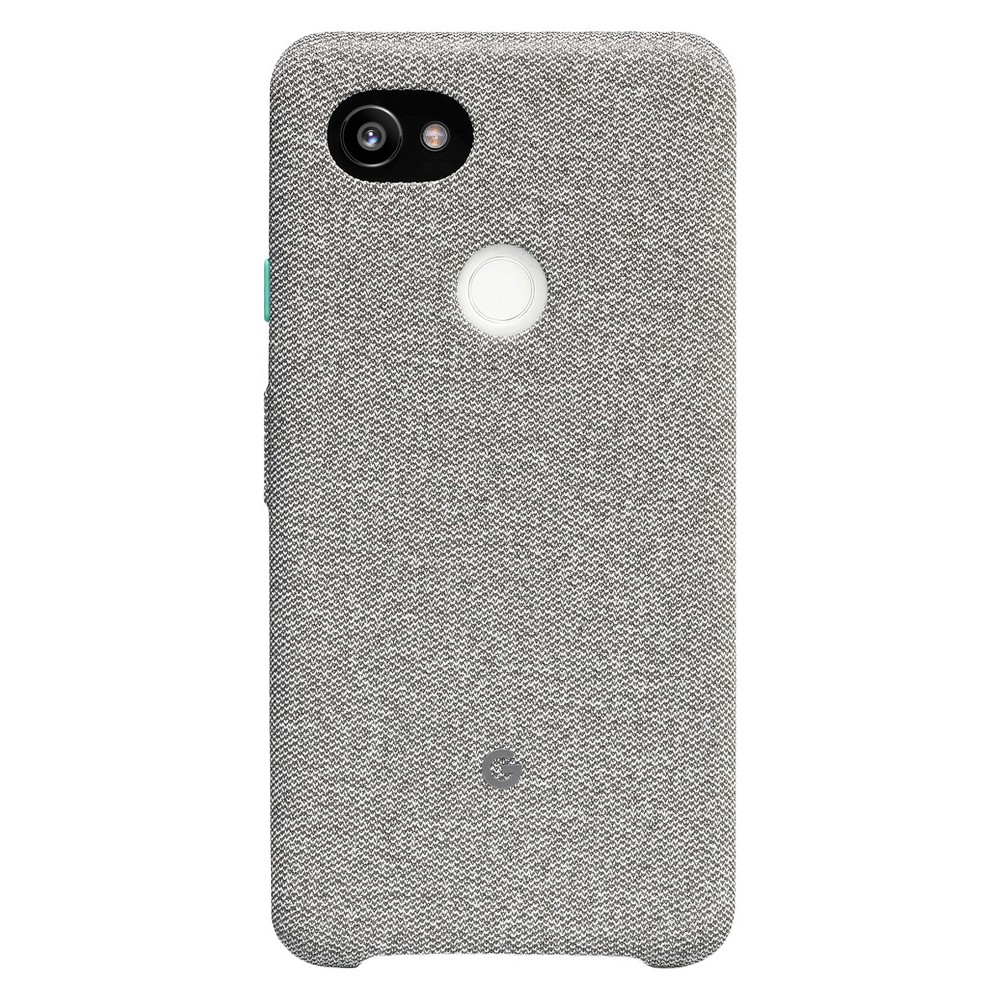 Google Pixel 2 XL Fabric Case - Cement, Gray Protect your phone in style with this Google Pixel 2 XL Fabric Case from Google. Designed to keep your phone safe from a variety of damage, this fabric Google Pixel case is crafted from unique material to help protect your phone, while the microfiber liner on the inside keeps your phone free of scratches. The gray phone case features a tweed-like knitted exterior to enhance grip, and accurate cutouts provide easy access to the camera, fingerprint sensor and ports. Stick your Pixel 2 in this fabric case to offer complete protection. Pattern: Houndstooth.