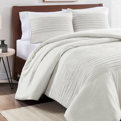Vue Full/Queen 3pc Shawna Comforter & Sham Set Gray