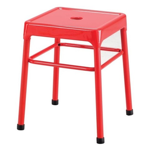 Astounding Steel 18 Guest Stool In Red Safco Alphanode Cool Chair Designs And Ideas Alphanodeonline
