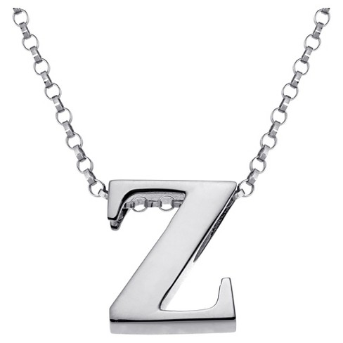 Sterling Silver Initial Charm Pendant - image 1 of 1