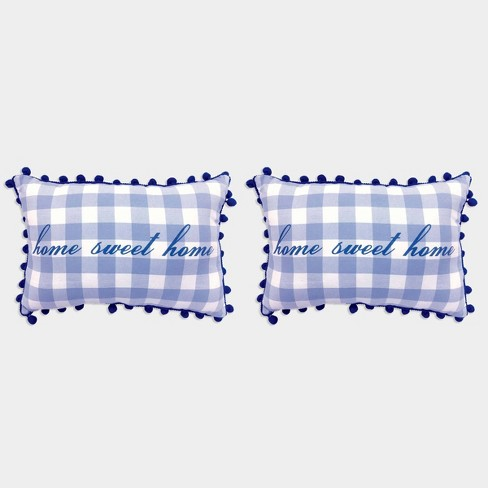 2ct Home Sweet Home Pillows - Bullseye's Playground™ - image 1 of 1