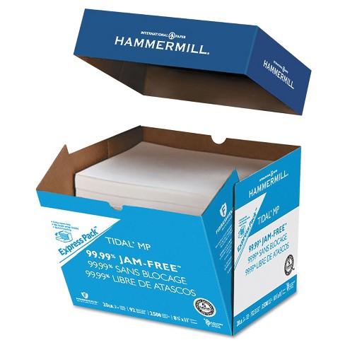 Hammermill Tidal MP Paper Express Pack 92 Brightness 20lb 8-1/2x11 White 2500/Carton 163120 - image 1 of 1