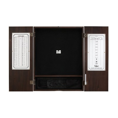 Viper Metropolitan Espresso Steel Tip Cabinet