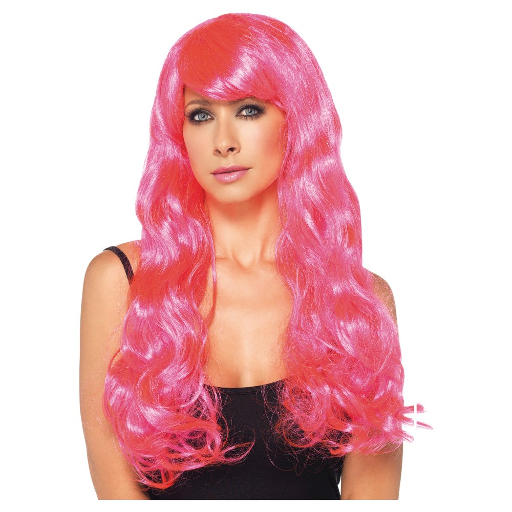 Women's Starbright Wig Neon Pink