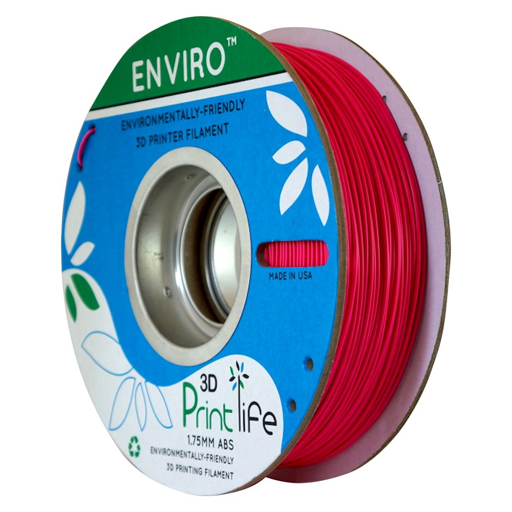 Image of 3D Printlife Enviro Eco-Friendly 1.75mm Premium Abs Filament - Pink (8130555)