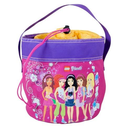 "LEGO 8"" Friends Drawstring Bag Cinch Bucket Drawstring Bag - image 1 of 1"