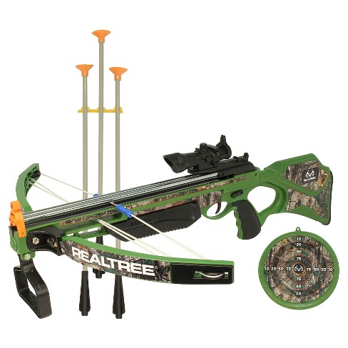 "NKOK RealTree® 26"" Jr. Compound Bow Set - image 1 of 4"