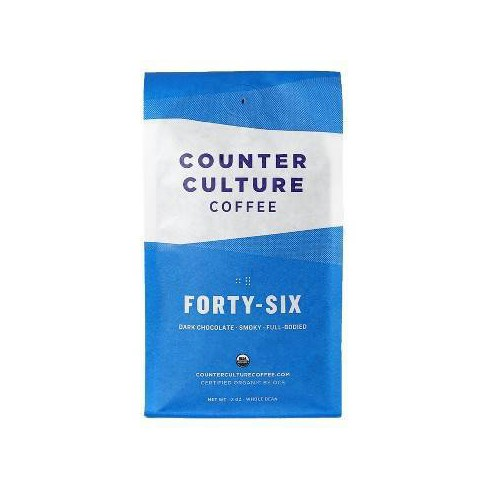 Counter Culture Forty Six Dark Roast Whole Bean Coffee -12oz - image 1 of 4