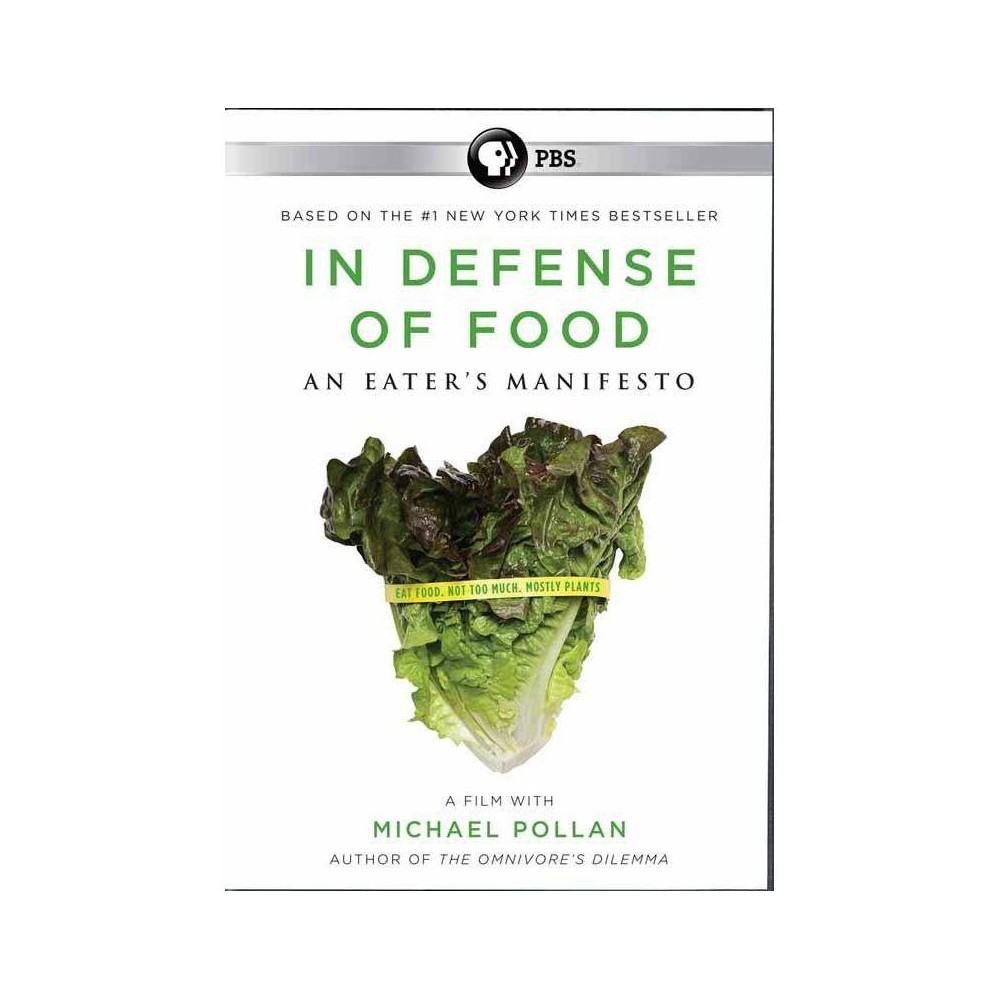 In Defense Of Food An Eater S Manifesto Dvd