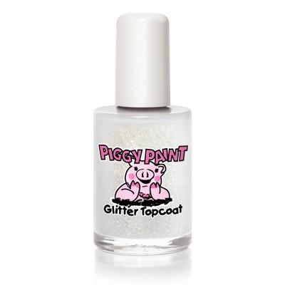 Piggy Paint Nail Polish - Glitter Topcoat - 0.5 fl oz