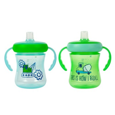 The First Years Soft Spout Trainer 2pk Cup - I'm A Star - 7oz