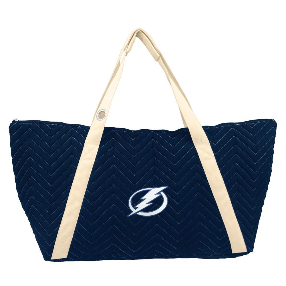 NHL Tampa Bay Lightning Chev Stitch Weekender Bag