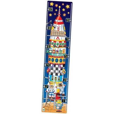 The Learning Journey Long and Tall Puzzles 123 Rocket Ship 50+ pcs