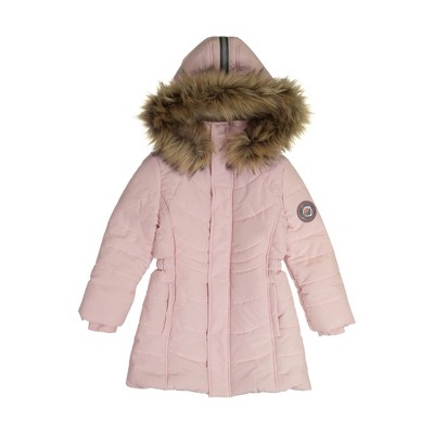 Andy & Evan  Toddler  Girls Water Resistant Parka