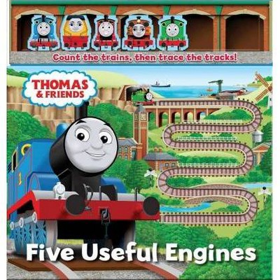 Thomas & Friends Five Useful Engines -  BRDBK by Maggie Fischer (Hardcover)