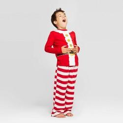 Kids' Holiday Santa Pajama Set - Wondershop™ Red