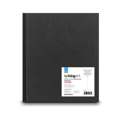 """Kingart 200 Sheets 10.75"""" x 12.5"""" Hardbound Sketchbook"""