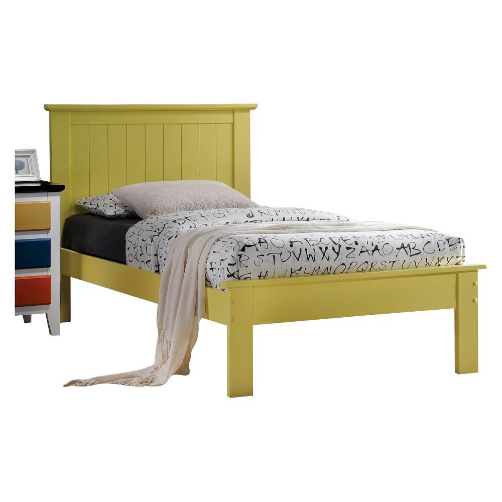 Prentiss Kids Bed - Yellow(Full) - Acme