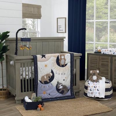 NoJo Goodnight Sleep Tight Crib Sheet - 4pc