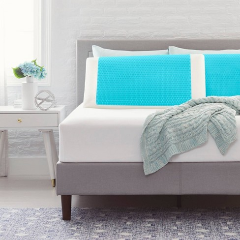 Bubble Gel Memory Foam Bed Pillow - Comfort Revolution - image 1 of 4