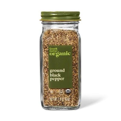 Organic Ground Black Pepper - 1.9oz - Good & Gather™