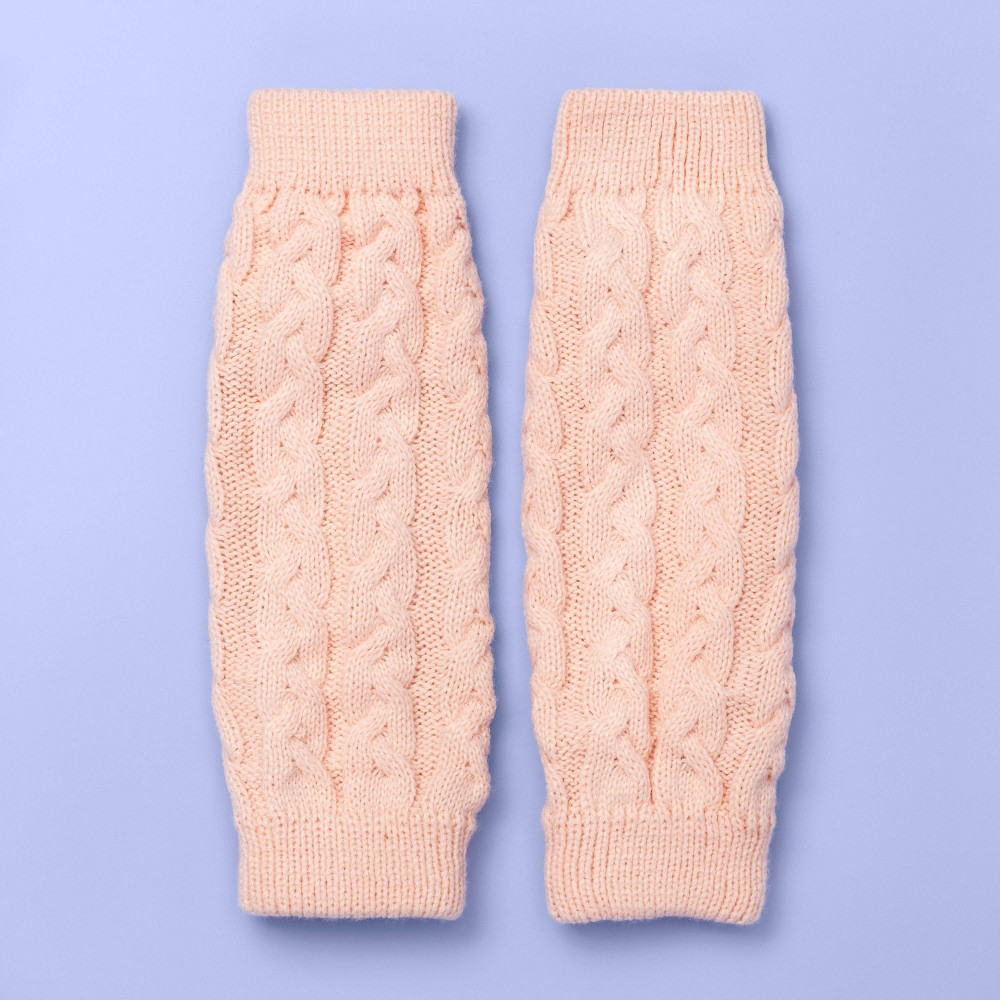 Image of Girls' Dance Leg Warmers - More Than Magic Pink One Size, Girl's