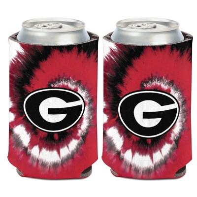 NCAA Georgia Bulldogs Tie-Dye Can Cooler