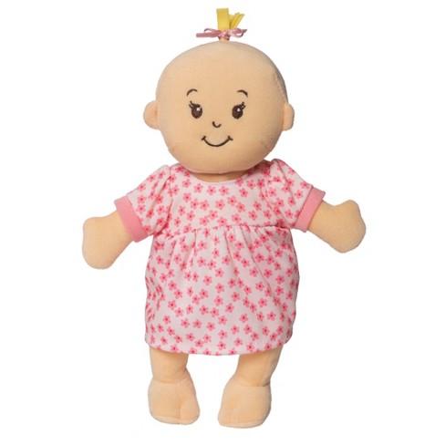4f1167fbd2087 Manhattan Toy Wee Baby Stella Doll Peach : Target