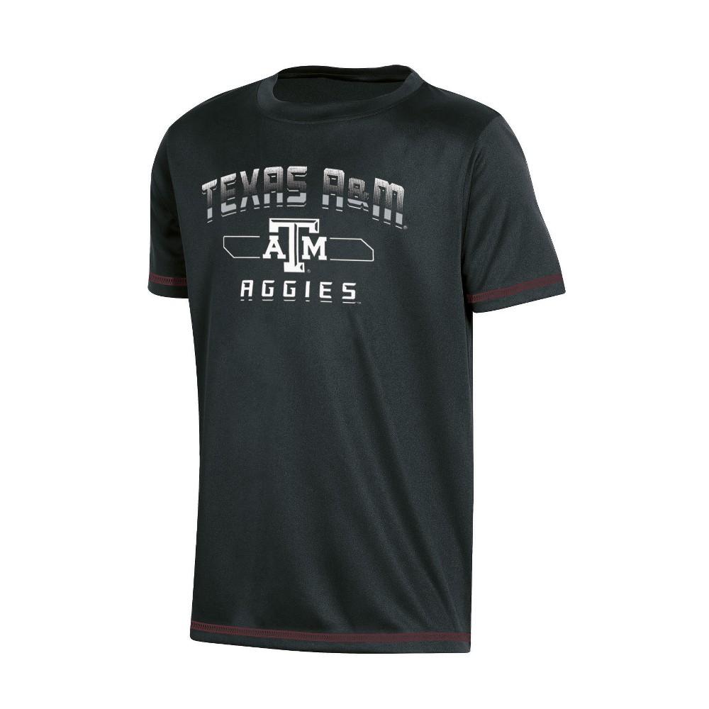 NCAA Boys' Poly T-Shirt Texas A&m Aggies - XS, Multicolored