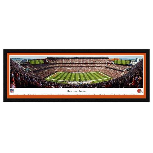 NFL Blakeway Stadium View Select Framed Wall Art - Cleveland Browns ...