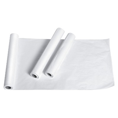 """Medline Exam Paper Table White - 18""""X125'"""