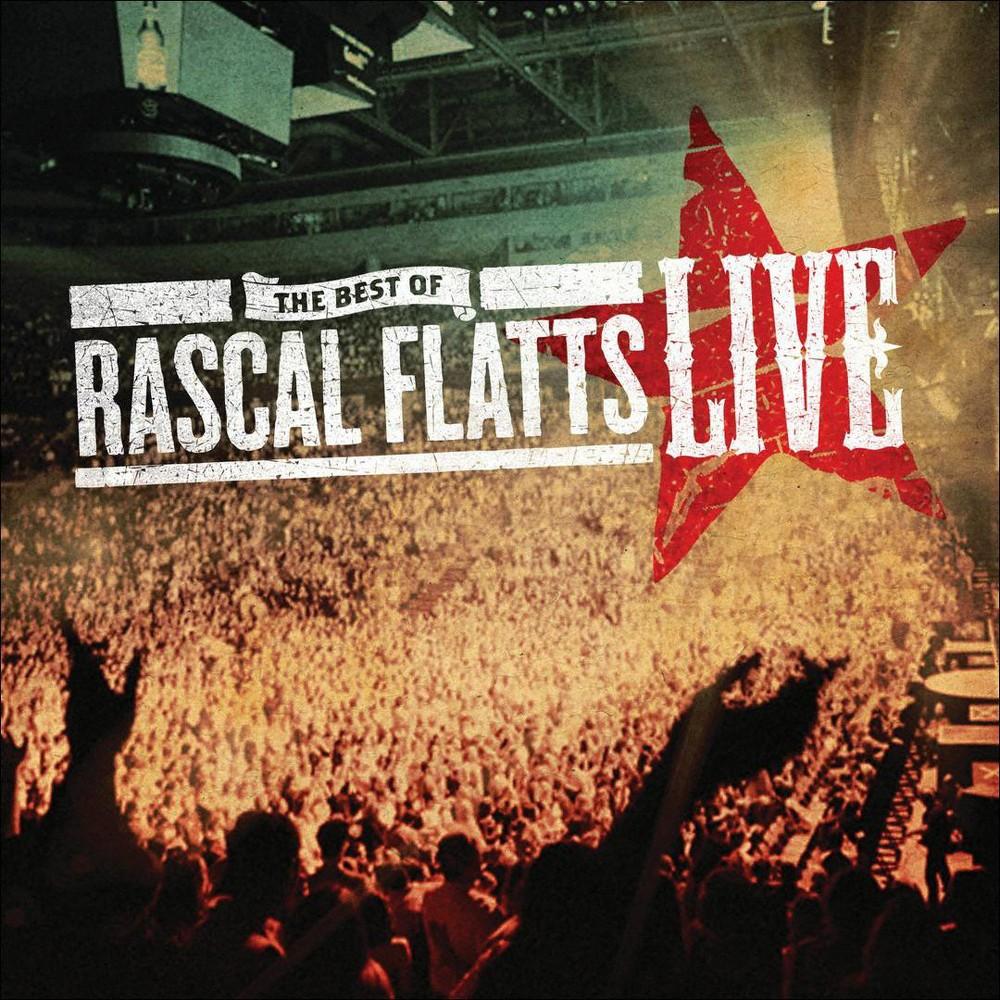 Rascal Flatts - The Best of Rascal Flatts Live (CD)