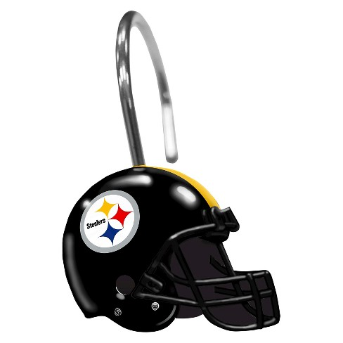 Northwest Pittsburgh Steelers Shower Curtain Rings Target