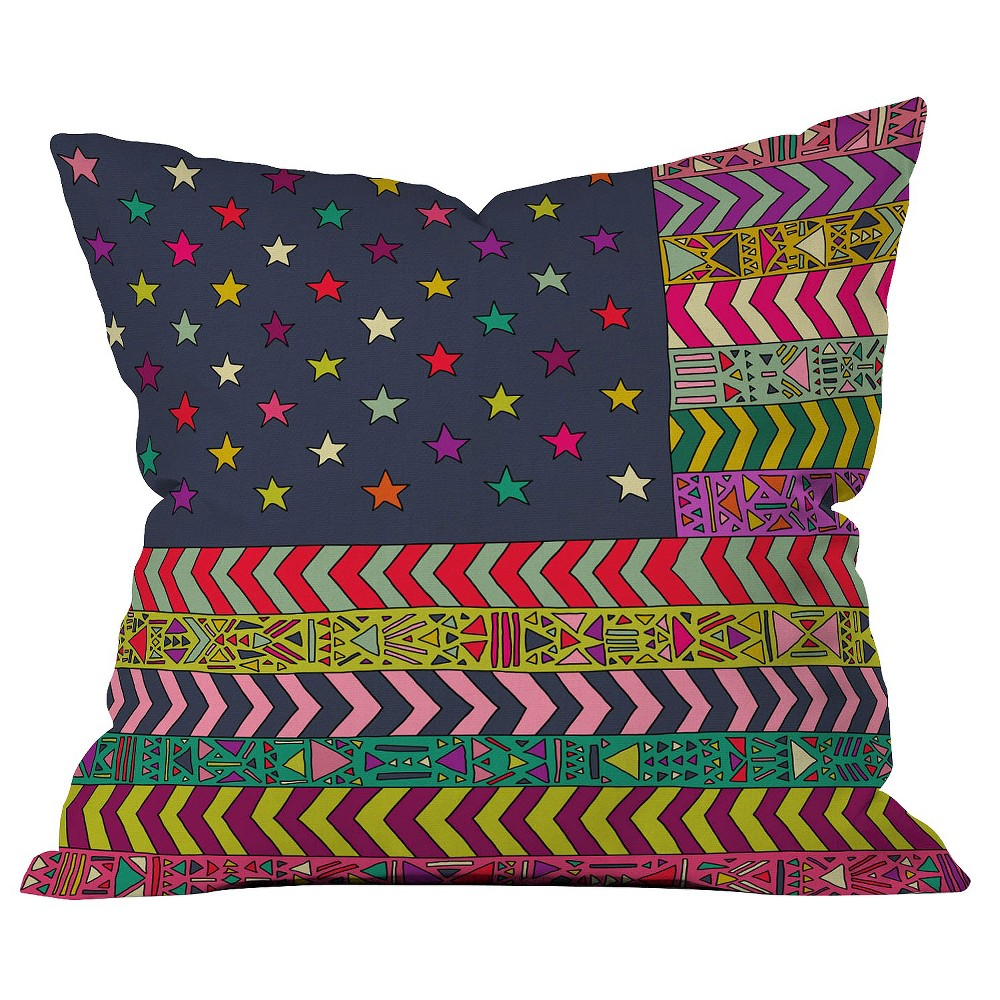 My USA Throw Pillow - Deny Designs, Multi-Colored