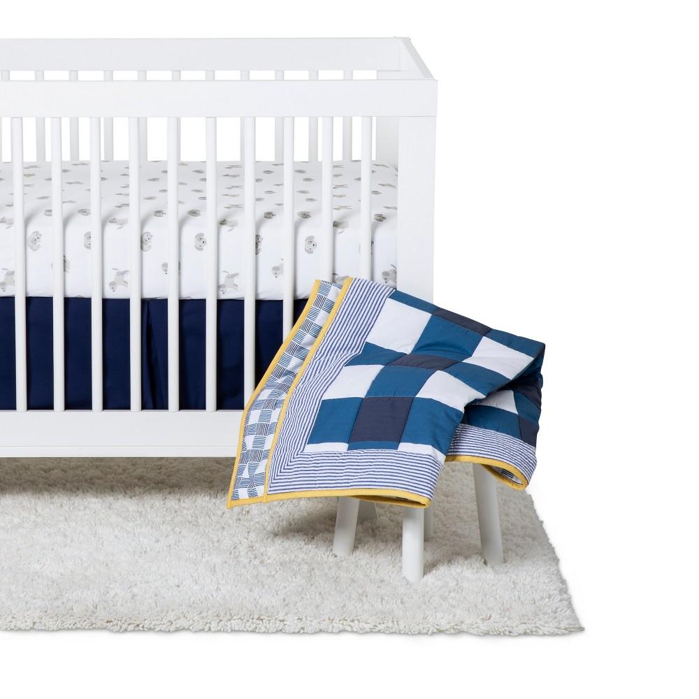 Image of Baby Boys' Nursery Crib Set 4pc - Cloud Island , Kids Unisex, Blue